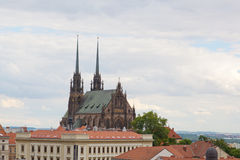 Temple sacred Peter and Pavel in Brno Royalty Free Stock Image