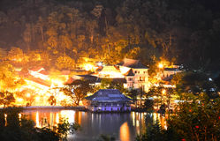 Temple Of The Sacred Tooth Relic, Kandy Stock Image