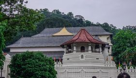 Sacred Tooth Relic Temple in Kandy, Sri Lanka royalty free stock photos