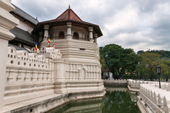 Temple of the Sacred Tooth Relic Royalty Free Stock Photos