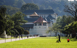 Temple of the Sacred Tooth Relic, Kandy, Sri Lanka Royalty Free Stock Photo