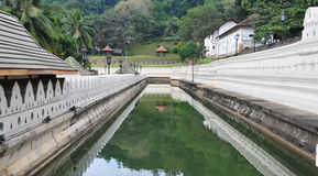 Temple of the Sacred Tooth Relic in Kandy Stock Photo