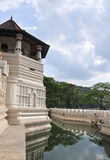 Temple of the Sacred Tooth Relic in Kandy Royalty Free Stock Photos