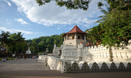 Temple of the Sacred Tooth Relic at Kandy, Sri Lanka. Temple Of The Sacred Tooth Relic, That Is Located In The Royal Palace Complex Of The Former Kingdom Of stock photos