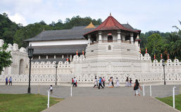 Temple of the Sacred Tooth Relic in Kandy Royalty Free Stock Images