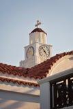 Temple saint en Rhodes Images stock