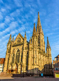 Temple Saint-Etienne of Mulhouse Stock Photography