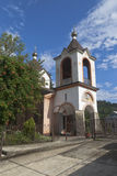Temple of Saint George in village Lesnoye, Adlersky district Krasnodar region Stock Image