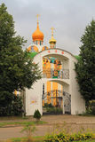 The temple of the Saint great martyr Varvara in the city Svetly Stock Image