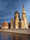 Temple in Saint-Petersburg Stock Images