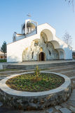Temple of Saint Petka of Bulgaria in the Rupite, Bulgaria Stock Image
