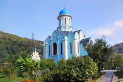 Temple of Saint Varus in Sochi Stock Image