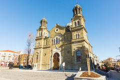 The temple of Saints Cyril and Methodius in Burgas, Bulgaria Stock Photography
