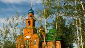 Temple for the sake of Sacred Saint Serafima Sarovsky Stock Photography