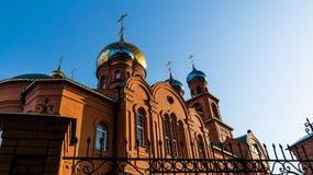 Temple for the sake of Sacred Saint Serafima Sarovsky Royalty Free Stock Photo