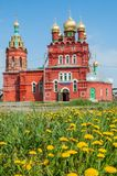Temple for sake of Saint Nikolay Chudotvorts Royalty Free Stock Images