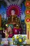 Temple at Sam Mountain/Nui Sam Stock Image