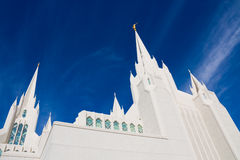 Temple in San Diego Royalty Free Stock Photo