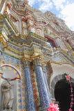 Temple of san francisco acatepec III Royalty Free Stock Photos