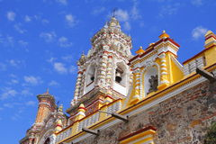 Temple of san francisco acatepec XI Royalty Free Stock Photo