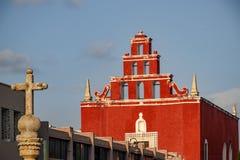 Temple San Juan De Dios Merida stock images