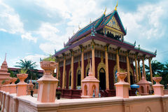 Temple sanctuary in Thailand royalty free stock photography