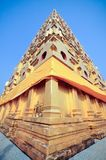 Temple at Sangkhlaburi Royalty Free Stock Images