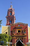Temple of santa maria tonantzintla I Royalty Free Stock Images