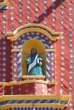 Temple of santa maria tonantzintla II Royalty Free Stock Photo