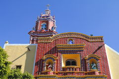 Temple of santa maria tonantzintla III Royalty Free Stock Images