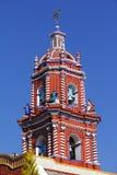 Temple of santa maria tonantzintla V Royalty Free Stock Images