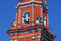 Temple of santa maria tonantzintla VI Stock Photo