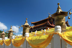 Temple Sanya de Nanshan Photo stock