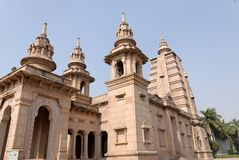 Temple in Sarnat, India Stock Photography