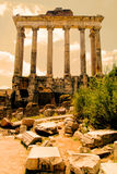 Temple of Saturn Royalty Free Stock Image