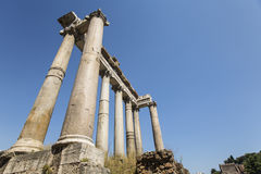 Temple of Saturn Stock Image