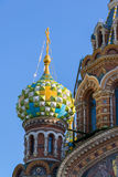 Temple of the Savior on Blood - close-up view, St. Petersburg, Russia Stock Photography