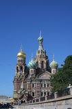 Temple of Saviour on the Blood in Saint Petersburg Royalty Free Stock Photo