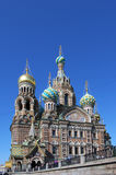 Temple of Saviour on the Blood in Saint Petersburg Stock Photography