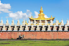 Temple scenery royalty free stock photos