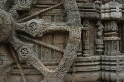 Temple sculpture of India. Royalty Free Stock Photo