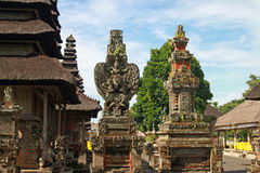 Temple with sculptures, Bali Stock Photos