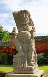 Temple with sculptures, Bali Royalty Free Stock Photo