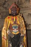 The temple sculptures of Zhangbi Cun Stock Photo