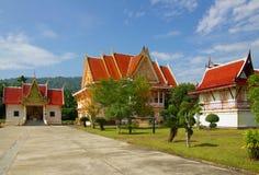 Temple se reposant de moine bouddhiste, Thaïlande Photo libre de droits