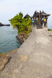 Temple by the Sea, Bali, Indonesia Royalty Free Stock Photo