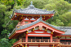Temple section Royalty Free Stock Photo
