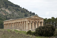 Temple of Segesta quater Stock Photography