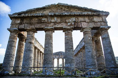 Temple of Segesta 2 Royalty Free Stock Photo