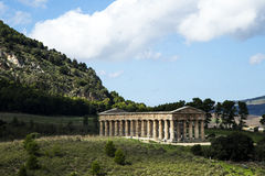 Temple of Segesta Stock Images